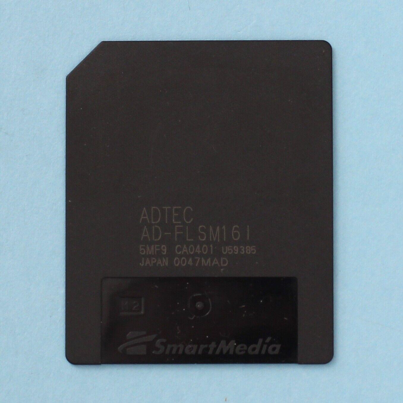 16MB ADTEC SmartMedia Memory Card For Olympus Fuji Boss Roland Korg