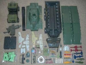Mixed-Lot-1980s-ARAH-GI-Joe-Cobra-Vehicle-Playset-Part-Piece-Accessory-Missiles