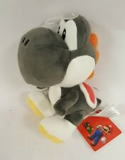 "Official NEW Black Yoshi Plush 7"" Nintendo Super Mario Bros Stuffed Toy"