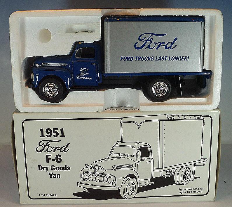 First Gear 1 34 FORD F 6 Dry Goods Van Camion Neuf dans sa boîte  2761