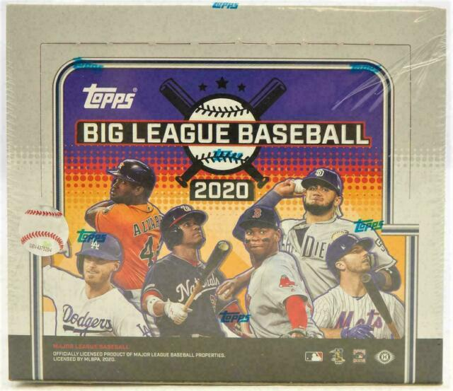 2020 Topps Big League Baseball Hobby Box Factory Sealed FREE SHIPPING!