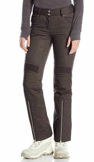 Spyder Womannen's Amour Pants, Ski Snowboarding Pant, afmeting 8, Inseam Regular (31)