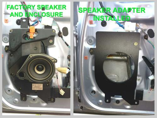 SA087/_55 SC400 Front Door Speaker Adapter Spacer Rings 1992-2000  SC300