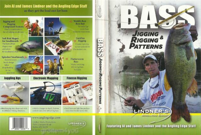 Lindner's Bass Fishing Jigging & Rigging Patterns Includes Smallmouth DVD