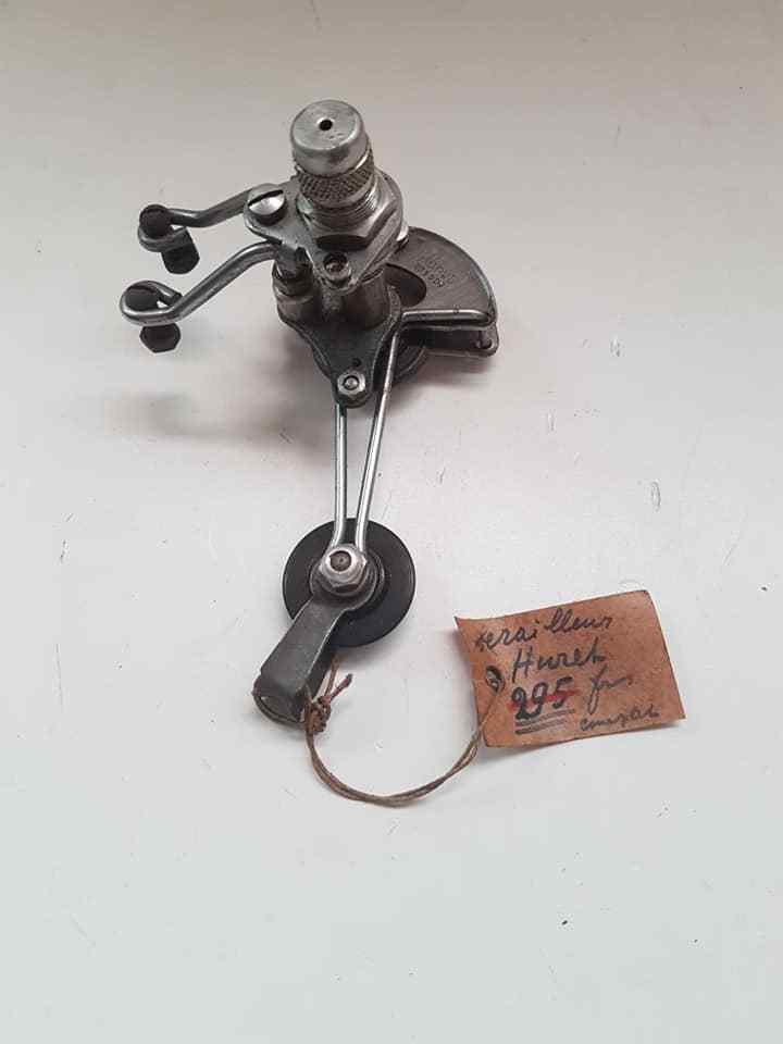 NOS HURET REAR DERAILLEUR VINTAGE MADE IN FRANCE 176gr