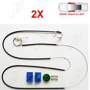 2//3 4//5 portes audi A3 électrique fenêtre régulateur clips avant gauche//droit de l/'ue fait