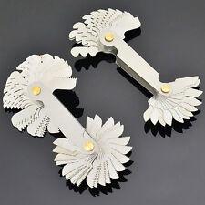 Great Measuring Tool 60 Degree Thread Blades Screw Pitch Gage Gauge Dual Head