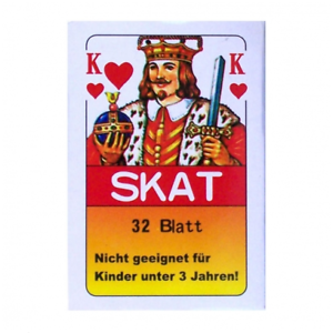 10-x-32-Sheet-Game-French-Picture-Sheet-Skat-Cards-Playing-Cards