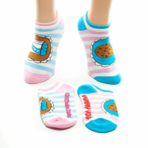 Yummy You Juniors Milk /& Cookie Combo Ankle Socks 2 pairs