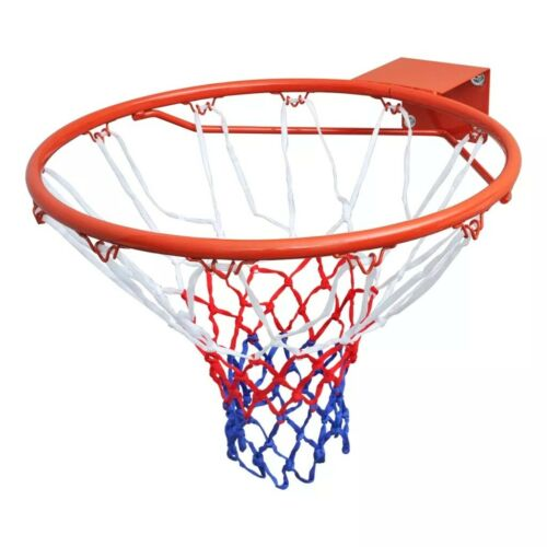 Sports Basketball Nets Goal Hoop Set Rim with Net Orange