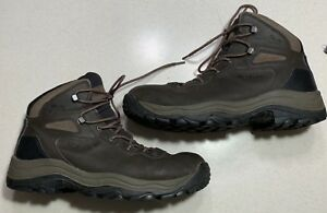 57ddbc2b8bc Details about Mens Columbia Canyonville Waterproof Boot Size 10.5 Hiking  Brown Leather