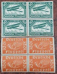 Imperio Alemán 111-112 (edición completa) nuevo, 1919 sellos de correo aéreo