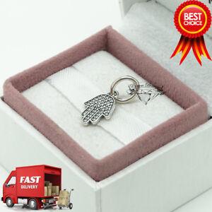 Genuine-Pandora-Sparkling-Symbol-of-Protection-Necklace-Pendant-Charm-791307CZ