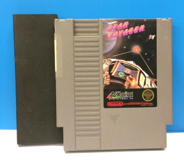 Star Voyager (Nintendo Entertainment System, 1987)(CART AND SLEEVE ONLY)