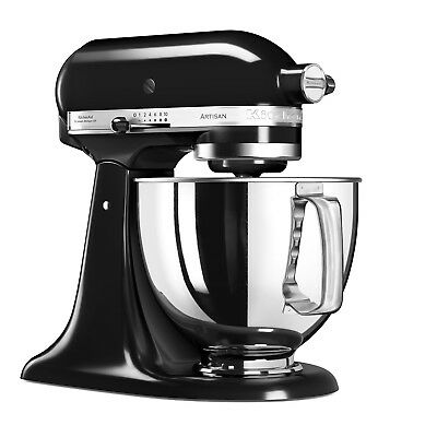 KitchenAid Artisan 5KSM125BOB 4.8 L Stand Mixer - Onyx Black