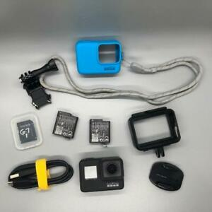 GoPro-HERO-7-Camera-with-Accessories-Case-2-Batteries-and-more-All-working