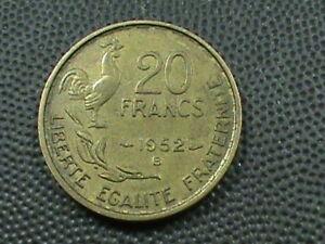 Frankreich-20-Franken-1952-B-Maximum-in-USA