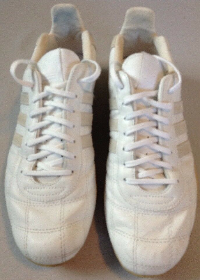 Adidas Tuscany Goodyear Driver's Racing Shoes White Men's 8- Rare Excellent