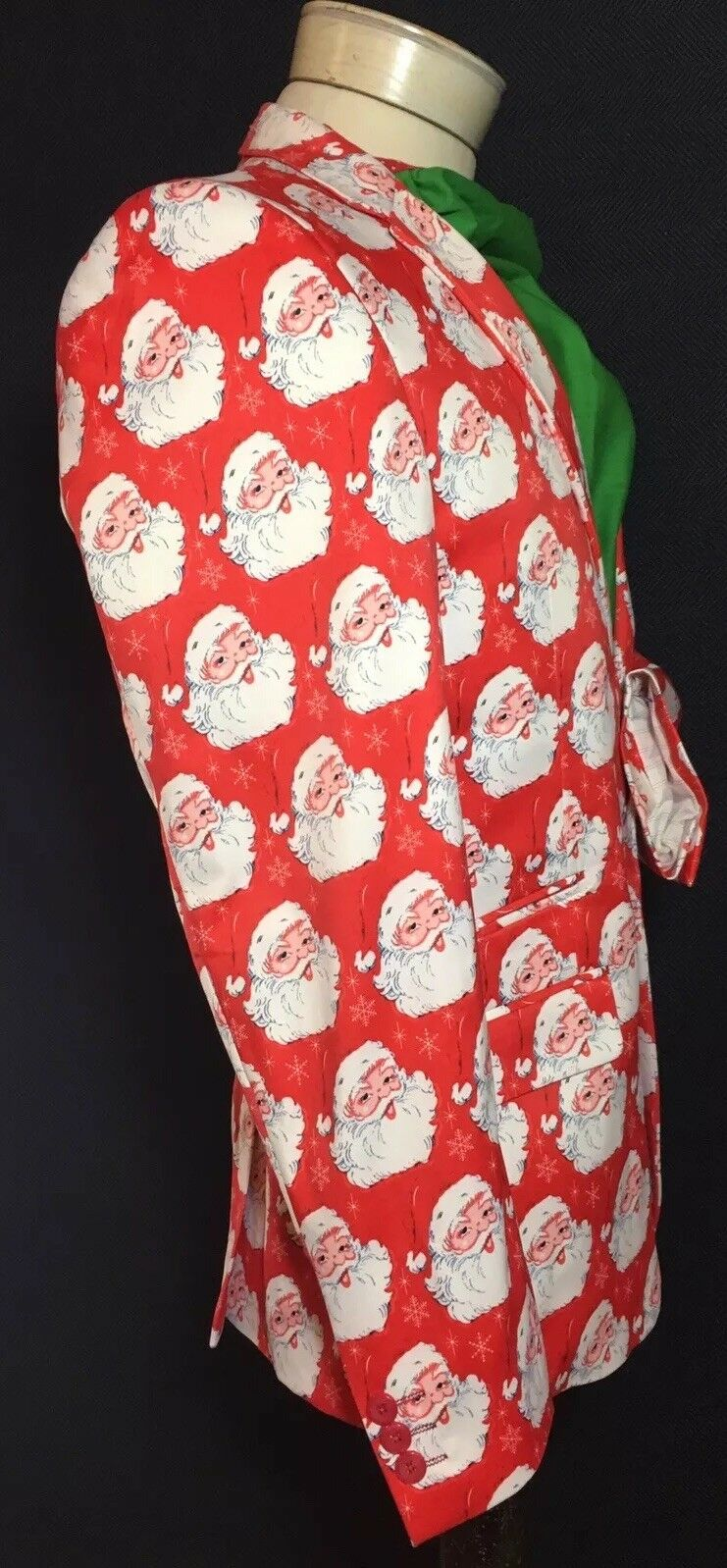 Christmas Suslo Couture Blazer Sport Coat Santa /& Trees NWT! NEW Choose Size