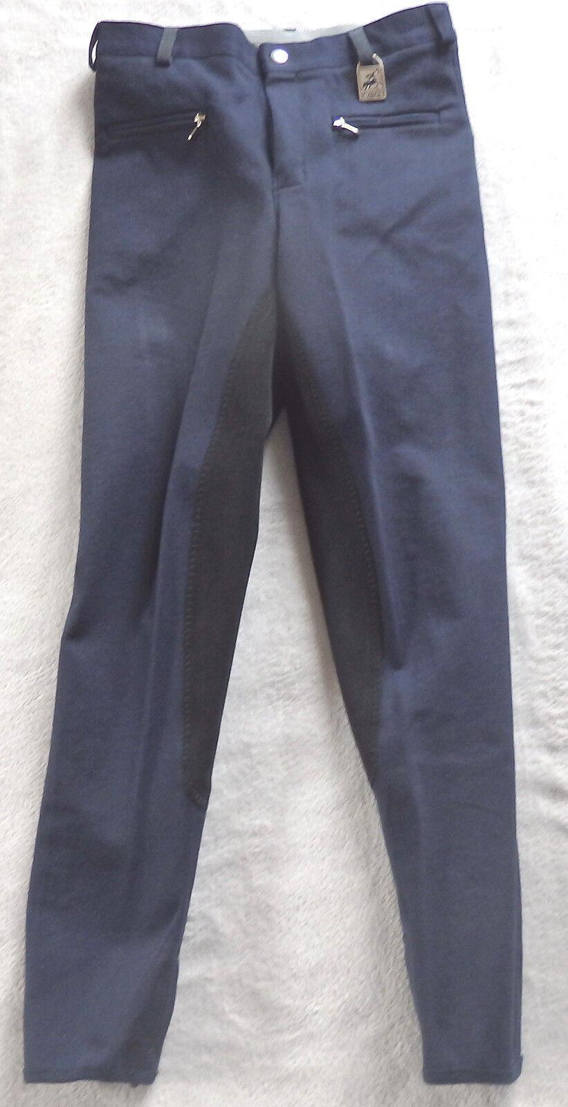 KYRON Bambini Pantaloni Montala, 3/4 guarnizione in Alexa, pieno, Blu, guarnizione in nero, gr 140, Alexa, in (89) eb0ff5