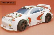 1/8 Toyota Celica Rally RC Car Body shell 1.5mm Ofna  GT Serpent Traxxas 0155