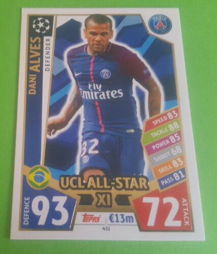 Topps Match Attax Champions League 2017//2018 UCL ALL STAR XL aussuchen 430-440