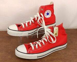 Red Chuck Taylor Converse High Top