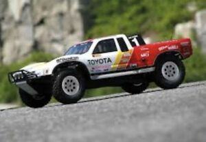 Mini Trophy Truck >> Details About Rare Hpi Ivan Stewart Painted Body Mini Trophy Truck Genuine 105721 Twin Hammers
