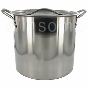 Stainless-Steel-Vegetable-Chicken-Soup-Stewing-Stock-Pot-Boiling-Pan-With-Lid
