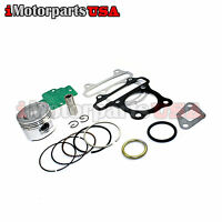 44mm Gy6 60cc Piston W/ Gaskets Vip Peace 50 Scooter 139qmb Big Bore Cylinder