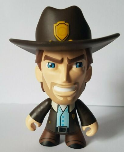 più! SKYBOUND Minis LOOSE FIGURE SERIE 1-Walking Dead Rick negan ROBOT