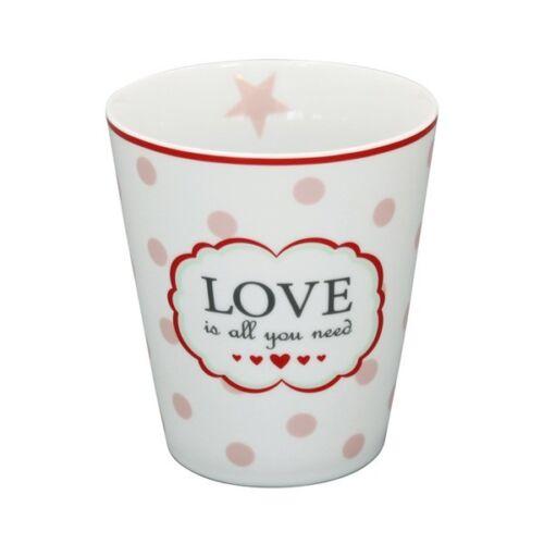 Krasilnikoff Mug Love is all you need white