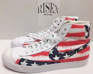 1afb6c430929e6 Nike Blazer Mid  77 PRM Vintage Independence Day USA 537327-109 ...