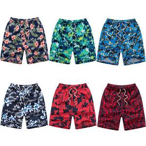 Talla-Grande-Hombre-Verano-Playa-Shorts-de-bano-banador-natacion-Board-DEPORTE