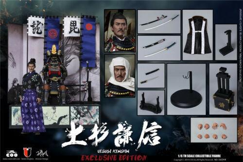 1 6 COOMODEL SE043 Imperio serie i Uesugi Kenshin Figura De Colección De Lujo Ver.