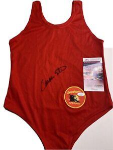 Carmen Electra Signed Baywatch Bathing Suit Swimsuit JSA