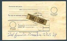 ITALIA REP. - Pacchi postali - 600 lire stelle - usato intero su bollettino
