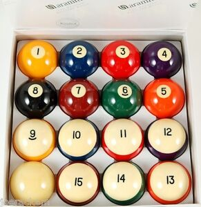 Belgian-Aramith-Crown-Standard-Pool-Balls-Pool-Ball-set-FREE-SHIPPING