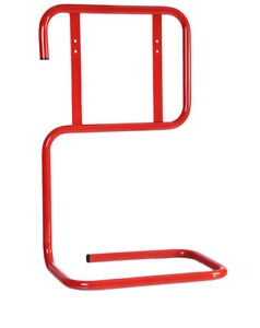 NEW DOUBLE TUBULAR FIRE EXTINGUISHER STAND - RED
