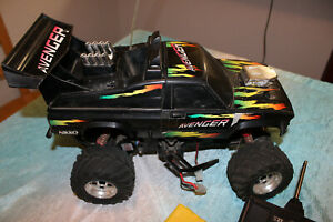 Rare Vintage 80 S Nikko Avenger Monster Truck Rc Car With Remote Awesome Ebay