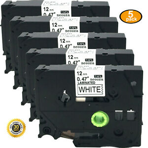 5pcs-Great-Quality-Black-on-White-Tape-Compatible-for-Brother-TZ-TZe-231-PT-H105
