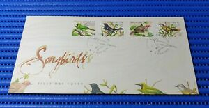 1998-Singapore-First-Day-Cover-Song-Birds-Special-Stamp-Issue