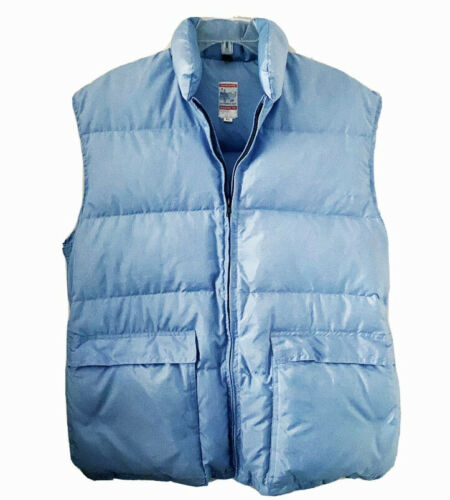 Men's Size XL Puffer Ski Vest by Frostline Kit Ful