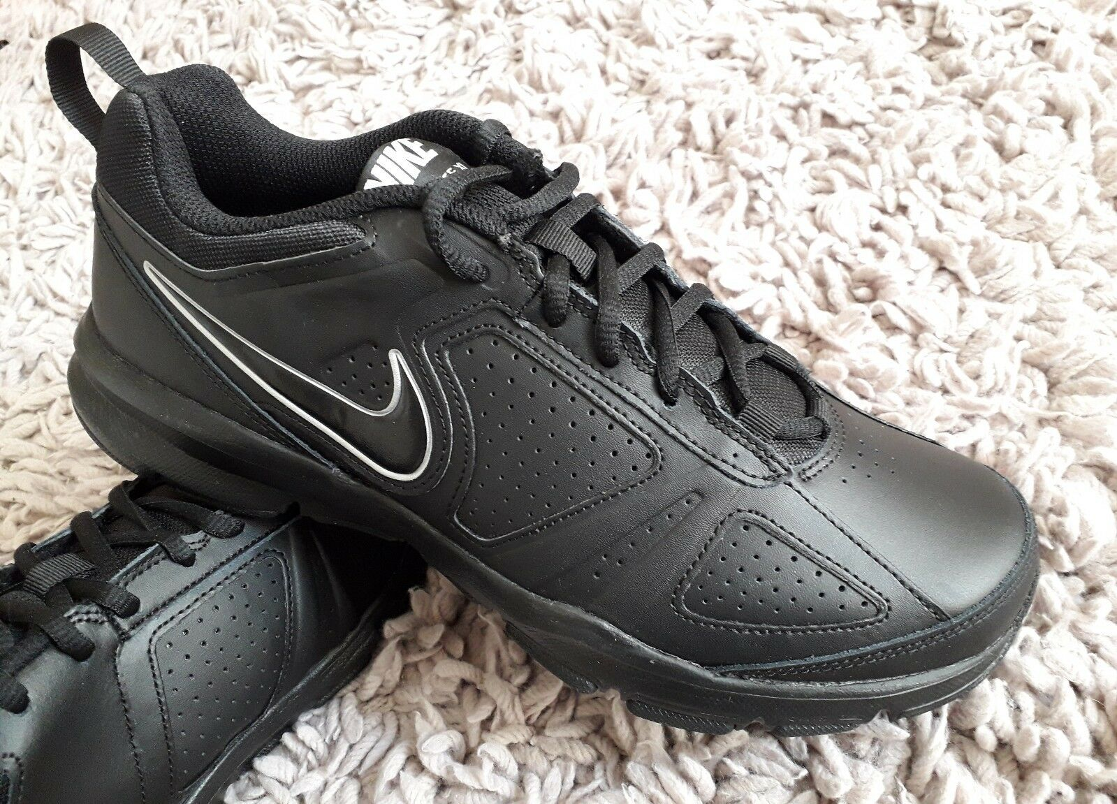 NIKE chaussures T LITE X1 homme TRAINERS SPORTS  chaussures NIKE Taille7 SPORTS FITNESS NEW noir b532ce