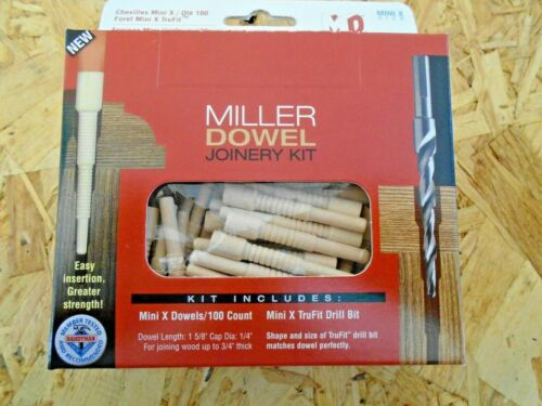 Miller Dowel joining system joining timber cabinets,furniture KITS OR DRILLS