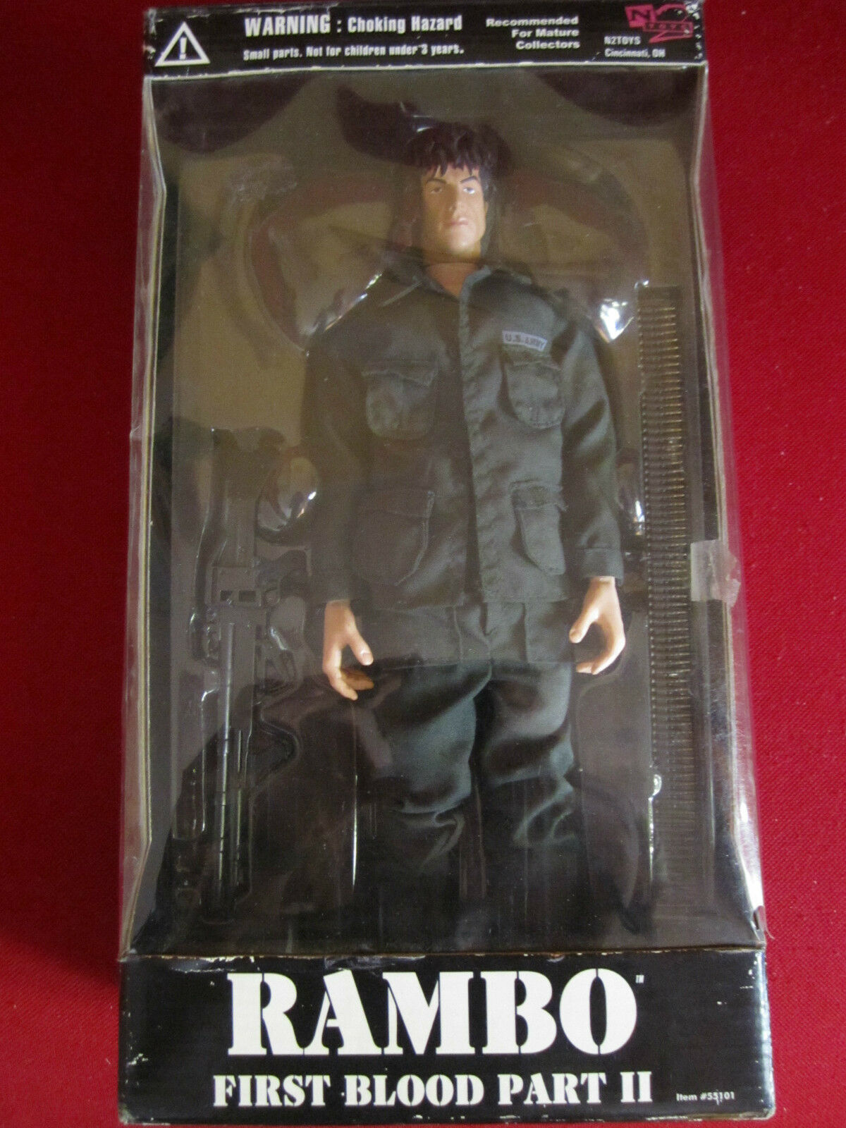 Action Figure RAMBO First Blood Part II 12