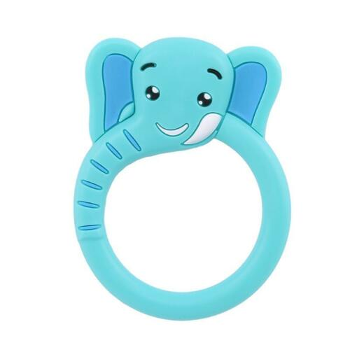 Silicone Cute Cartoon Infant Teether Baby Teeth Traning Toys Molar Safety Toys C