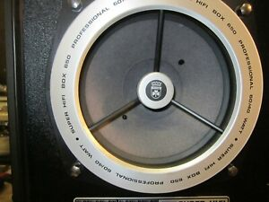 1 x Tieftöner Grundig Super Hifi Box 650 Prof.