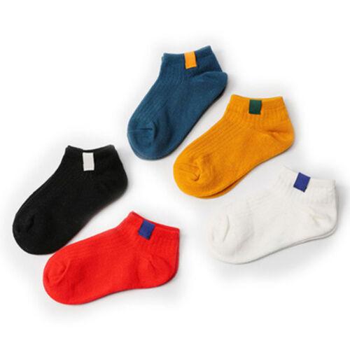 5 Pairs//Set Kids Socks Delicate Short Socks Winter Autumn Breathable Warm Socks