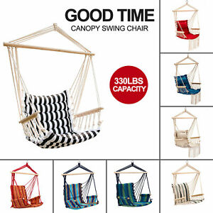 Hammock-Chair-Patio-Porch-Yard-Tree-Hanging-Air-Swing-Seat-Rope-Chair-Outdoor